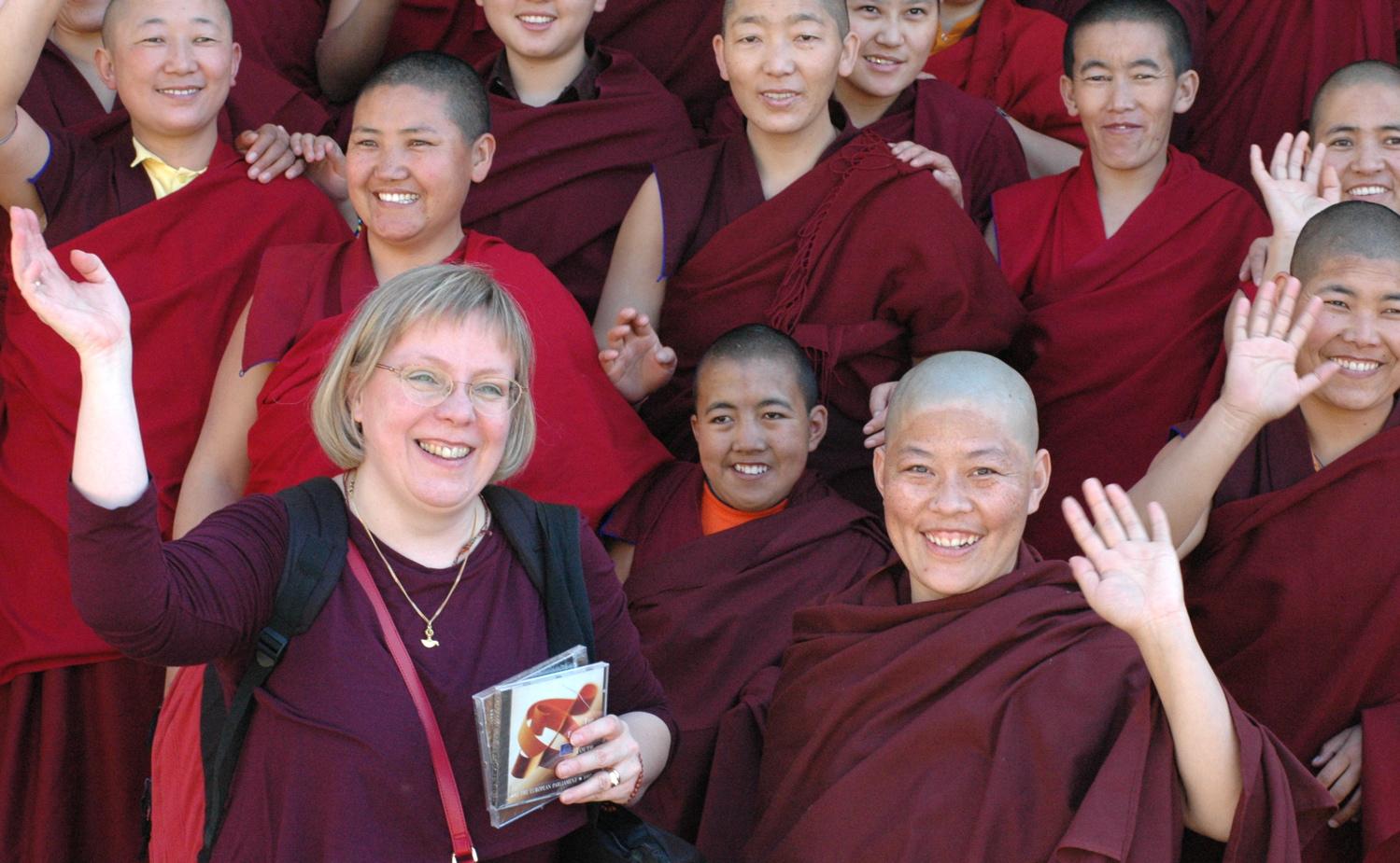 recherche femme bouddhiste)